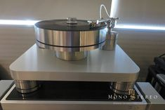 A.J. Conti's Transcendence turntable and Audio Research REF 10 Phono phono stage...