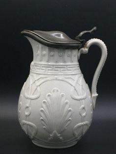 Antique stylish moulded jug.