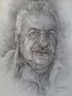Pencil on paper 42x29.7 cm . By me Audet Hyder