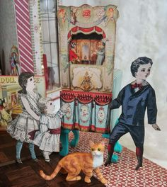 Artfully Musing: VICTORIAN TOY SHOPPE TUTORIAL - NEW COLLAGE SHEETS - FREE SHEET & IMAGES