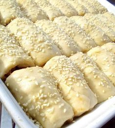 Greek Recipes, Fajitas, Finger Foods, Food To Make, Deserts, Food And Drink, Cooking Recipes, Bread, Cheese
