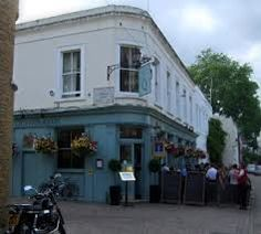 Queen's Arms South Kensington. Nice upmarket pub tucked away in a mews.