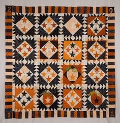 halloween quilt patterns | Mediocre Pattern