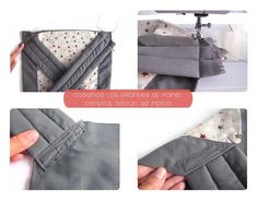 Cómo hacer un Mei Tai - Portabebes ergonómicos DIY. Sewing For Kids, Baby Sewing, Mai Tai, Master Class, Baby Gifts, Sewing Patterns, How To Wear, Diy Baby, Mj