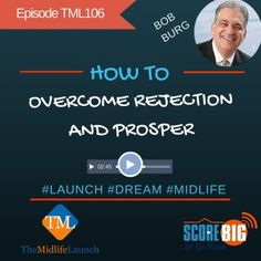 There are a myriad of articles and other media on how to overcome rejection. I would say all of them have some good ideas. Bob Burg shares from experience.