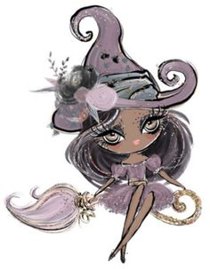 Girl Cartoon, Cute Cartoon, Art Sketches, Art Drawings, Framed Wallpaper, Digital Art Girl, Halloween Pictures, Illustration Girl, Love Art