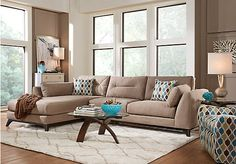 Shop for a Cindy Crawford Home Marin Valley Mineral Right 5 Pc SectionalLiving Room at Rooms To Go. Find Living Room Sets that will look great in your home and complement the rest of your furniture.