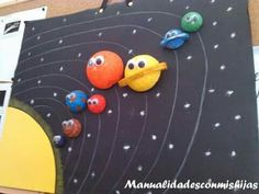 Solar System Projects For Kids, Solar System Crafts, Space Projects, Space Crafts, Science Projects, School Projects, Earth And Space Science, Science Art, Diy And Crafts