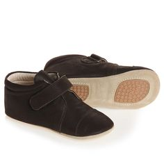Brown Leather Indoor Shoes - Shoes