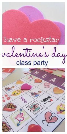 valentine's day class party ideas | valentine's bingo | valentine's partner match | free printables, ideas and more | #weteach
