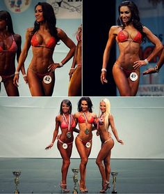 Amy Wright. Ideal competition body