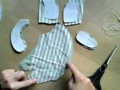 Tilda - how to make cat - part 1