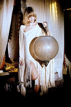 """70rgasm: """" Anita Pallenberg on the set of Performance directed by Donald Cammell and Nicolas Roeg, 1970 """""""