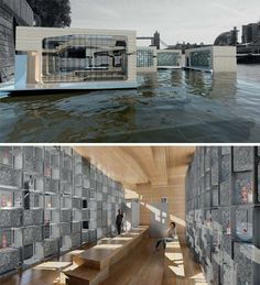 simple floating home designs