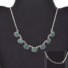 SIZZLING DESIGN 925 STERLING SILVER NECKLACE FOR WOMEN'S IN TURQUOISE STONE #SilvexImagesIndiaPvtLtd #Necklace