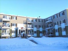 1000 & 1200 Gitzel Street - Apartments for Rent in Yellowknife on www.rentseeker.ca - Managed by Northview