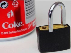 Handy skill to have if you need to open your locker and you lost the key!