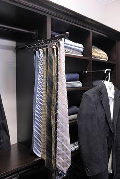 Sleek Tie Rack Love The Design