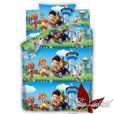 Детское полуторное постельное белье Paw Patrol 3 купить в Украине