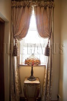 Opulent Curtain Designs By June Rayfus Interiors, Navan, Co. Meath. Curtain  With