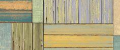 Bungalow Flooring Patchwork Wood Decorative Mat