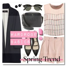 """""""Wardrobe Basics: Spring Jacket"""" by miee0105 ❤ liked on Polyvore featuring Alexis, Anya Hindmarch, 3.1 Phillip Lim, McQ by Alexander McQueen, Christian Dior, Ray-Ban, Zara and Lord & Taylor"""