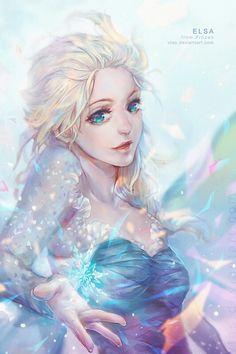 Elsa - Rainha do gelo