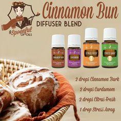 Cinnamon Bun - Essential Oil Diffuser Blend