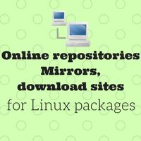 List of all online Linux yum or apt package repositories, mirrors, download sites. Updated continuously whenever new link is discovered