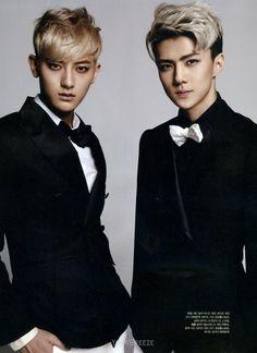 Tao and Sehun - The Celebrity Magazine