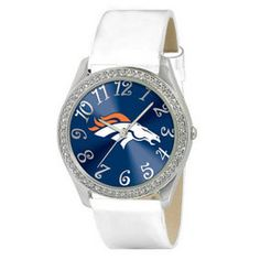 Time Denver Broncos Women's Glitz Watch