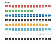 20 Great Free jQuery Pagination Plugins and Tutorials