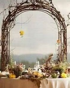 @curiouscountry posted to Instagram: Rustic Wedding Arch built with Curly Willow- make it yourself for your special day! We're so excited that we've put curly willow on an AMAZING sale for you AND we're posting a bunch of ideas of how to use it so make sure you FOLLOW! We'd also LOVE 💕 to see if you've ever used Curly Willow for home or event decor-- share your photos and be sure to tag @curiouscountrycreations  #weddinginspo #weddingreception #receptionideas #bohowedding #wedding