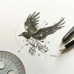 Raven Tattoo (By Kerby Rosanes)