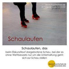 Schaulaufen_Deutsch_lernen_deutschwortschatz_Galerie