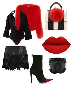 """""""Untitled #39"""" by jabriele on Polyvore featuring Alexander McQueen, Dsquared2, BCBGMAXAZRIA, Chanel, Haider Ackermann and Les Petits Joueurs"""