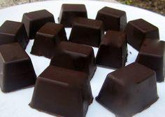 Bombones rellenos de dulce de leche y nueces