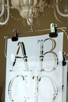 The Vintage Alphabet Stencil Set from Artisan Enhancements.