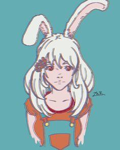Bunny Girl - ZKR  anime girl