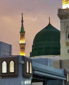 Masjid Al Nabawi, Masjid Haram, Islamic Wallpaper Hd, Mecca Wallpaper, Allah Wallpaper, Beautiful Wallpaper, Islamic Images, Islamic Pictures, Islamic Quotes