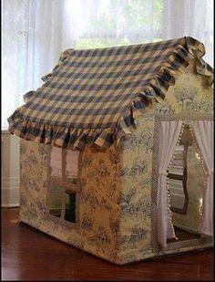 Çocuklar İçin Çadır Ev Yapımı-A leaf