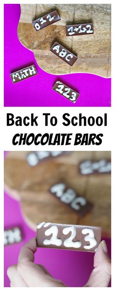 Back to School Choco