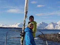 Cedric et Manu : Ski Voile en Norvège