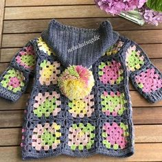 50 New Knitting Patterns You Never Seen - Crochet Baby Sweaters, Crochet Baby Jacket, Crochet Baby Clothes, Crochet Cardigan, Knit Crochet, Baby Clothes Patterns, Baby Knitting Patterns, Knitting Designs, Baby Patterns