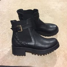 Black Chelsea boots Black Chelsea boots. Haven't been worn yet. Joe Boxer Shoes Ankle Boots & Booties