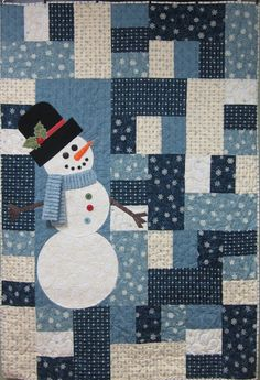 Suz's Stampin Spot: Search results for snowman Flannel Quilts, Lap Quilts, Quilt Blocks, Mini Quilts, Christmas Snowman, Christmas Crafts, Snowman Party, Sock Snowman, Snowman Quilt