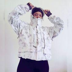 Ski jacket Retro Jackets, Thrift Fashion, Ski, Thrifting, Rain Jacket, Windbreaker, Vintage Fashion, Ruffle Blouse, Collection