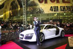 ironman 3 movie prem photos  seoul korea april 4 | ... April 4 during the South Korea tour for Iron Man 3. (Walt Disney