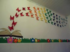 art ideas for the classroom Board Decoration, Class Decoration, School Decorations, Diy And Crafts, Crafts For Kids, Arts And Crafts, Paper Crafts, Fall Preschool, Preschool Activities