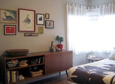 I like the credenza. Would be good for a tv stand.  Design*Sponge